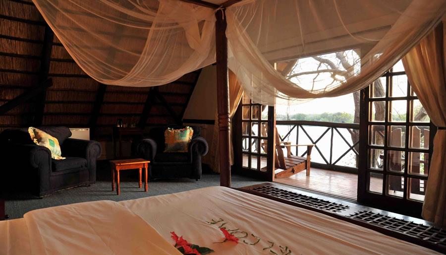 zambezi waterfront lodge livingstone zambia accommodation